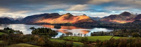 Cat Bells Morning Light - UltraHD Print with Aluminium Backing