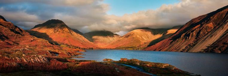 Wast Water Late Afternoon Sun - UltraHD Print