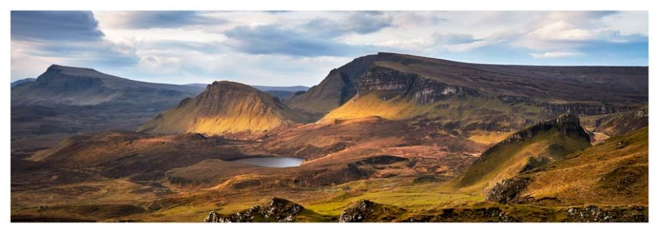 Cleat and Dun Dubh Quiraing - Isle of Skye Print