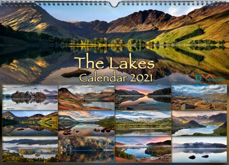 The Lakes Wall Calendar 2021