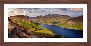 Yewbarrow and Scafell - Framed Print with Mount