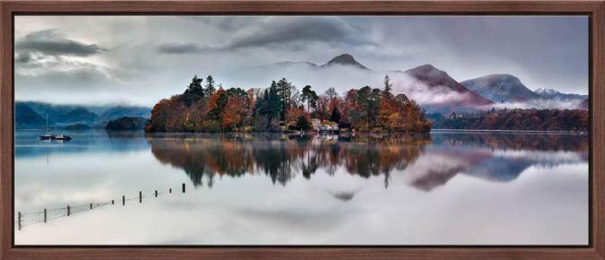 Derwent Isle Rising Mists - Modern Print