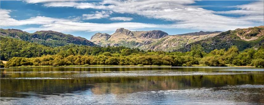 Elterwater Summer - Lake District Canvas