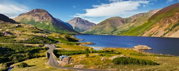 Summer at Wast Water - UltraHD Print with Aluminium Backing