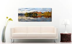 Derwent Isle and Cat Bells - UltraHD Print with Aluminium Backing on Wall