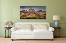 Harrison Stickle Pavey Ark - Canvas Print on Wall
