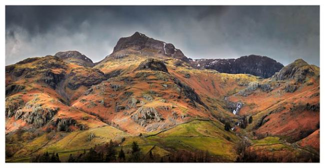 Harrison Stickle Pavey Ark - Lake District Print