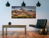 Harrison Stickle Pavey Ark - UltraHD Print with Aluminium Backing on Wall