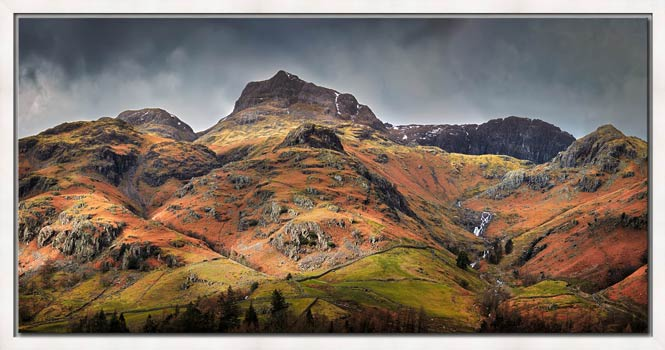 Harrison Stickle Pavey Ark - Modern Print