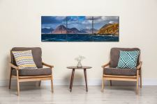Cuillins From Elgol - UltraHD Print with Aluminium Backing on Wall