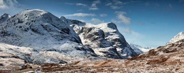 Glencoe in the Snow - UltraHD Print