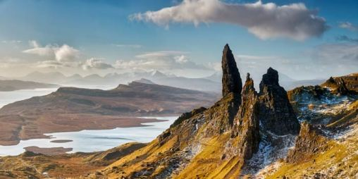 Old Man of Storr and Cuillins - UltraHD Print