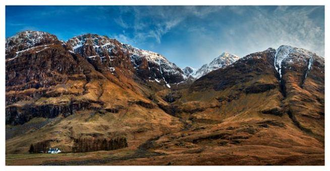 Bidean Nam Bian Glen Coe - Scotland Print
