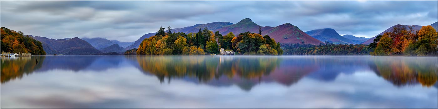 Derwent Water Tranquility Canvas Lake District