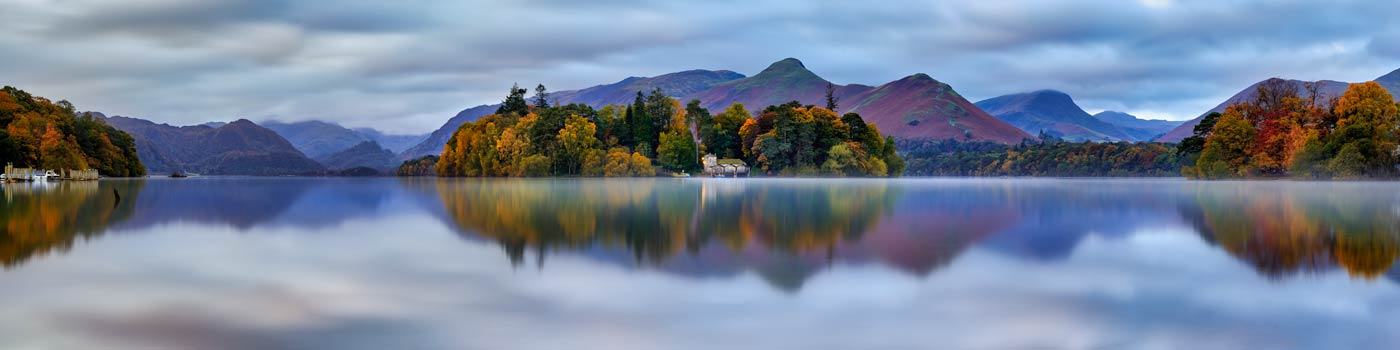 Derwent Water Tranquility - UltraHD Print with Aluminium Backing