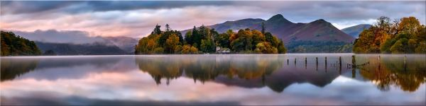 Derwent Isle Dawn Light - Canvas Print