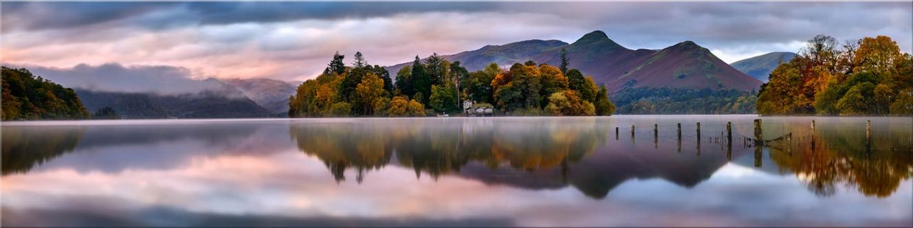 Derwent Isle Dawn Light - Canvas Prints