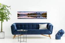 Derwent Isle Dawn Light - Lake District Canvas on Wall