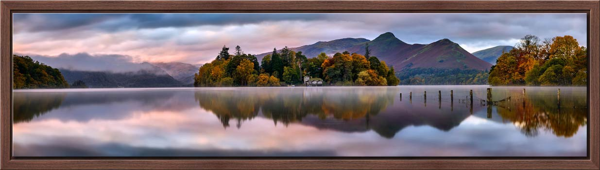 Derwent Isle Dawn Light - Modern Print