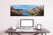 Buttermere Valley from Haystacks - Canvas Print on wall