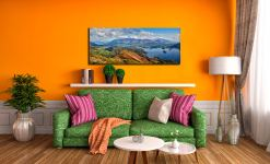 Catbells to Skiddaw - Canvas Print on Wall