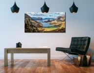 Hanging Rock Buttermere Valley - Canvas Print on Wall