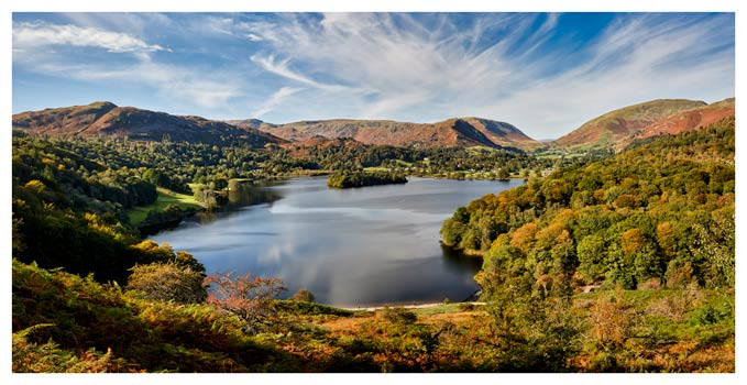 Early Autumn Grasmere - Lake District Print
