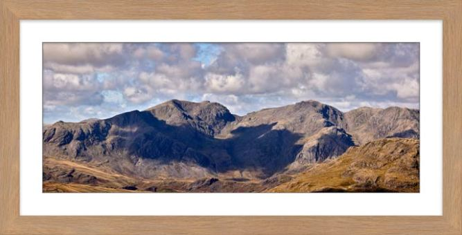 Sca Fell From Coniston Fell - Framed Print