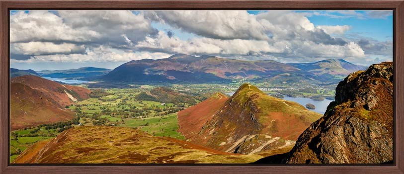 Cat Bells form Maiden Moor - Modern Print