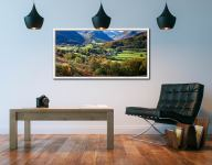 Trees of Borrowdale - White Maple floater frame with acrylic glazing on Wall