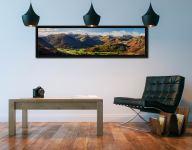 Beautiful Borrowdale Panorama - Black oak floater frame with acrylic glazing on Wall
