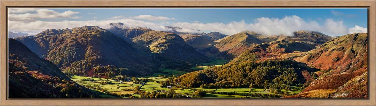 Beautiful Borrowdale Panorama - Modern Print