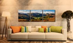 Beautiful Borrowdale - 3 Panel Canvas on Wall