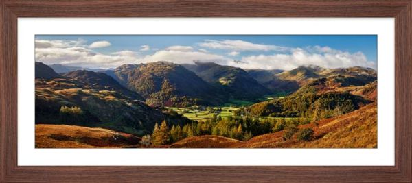 Beautiful Borrowdale - Framed Print with Mount