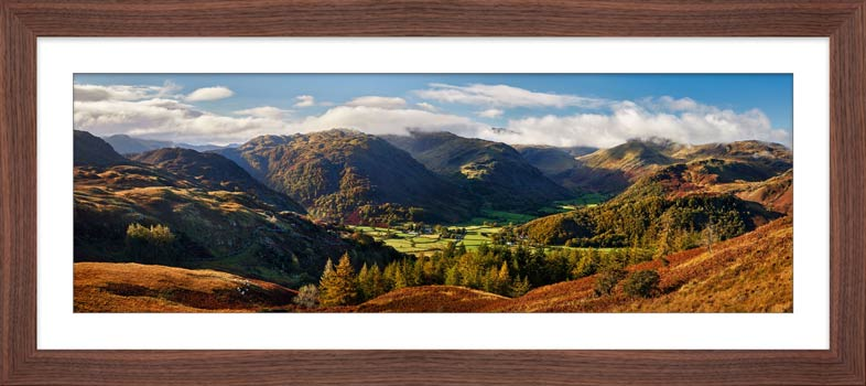 Beautiful Borrowdale - Framed Print