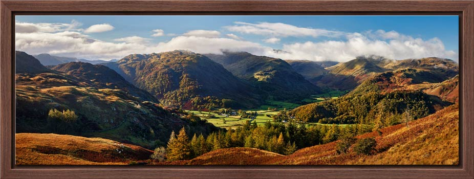 Beautiful Borrowdale - Modern Print