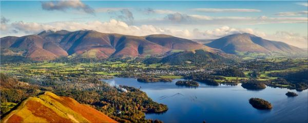 Keswick to Skiddaw - Canvas Print