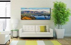 Keswick to Skiddaw - Canvas Print on Wall