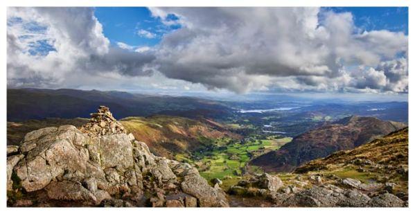 Harrison Stickle Summit View - Lake District Print