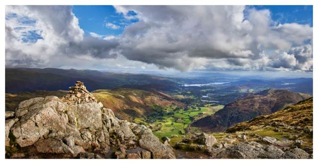 Harrison Stickle Summit View - Lake District Print