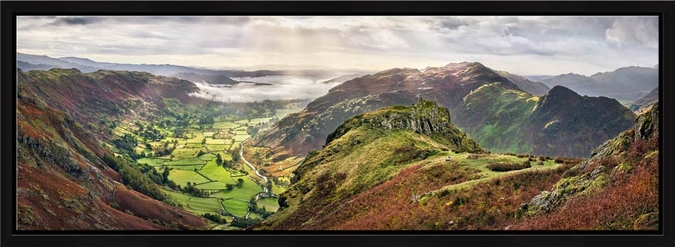 Glorious Great Langdale - Modern Print