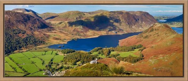 Contemplating Crummock Water