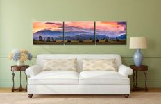 Castlerigg Sunrise - 3 Panel Canvas on Wall