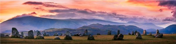 Castlerigg Sunrise - Canvas Print