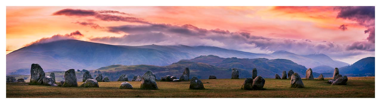Castlerigg Sunrise - Lake District Print