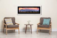Castlerigg Sunrise - Framed Print with Mount on Wall