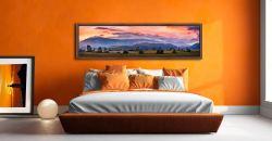 Castlerigg Sunrise - Walnut floater frame with acrylic glazing on Wall