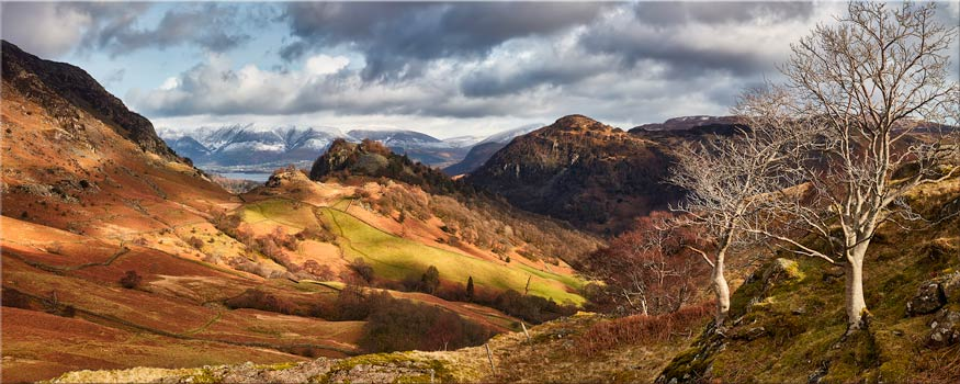 Kings How and Castle Crag - Lake District Canvas