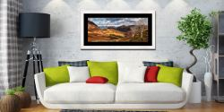 Kings How and Castle Crag - Framed Print with Mount on Wall