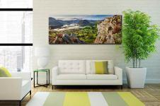 Heather Rocks Crummock - Canvas Print on Wall